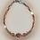 Thumbnail: Bracelet hématite doré rose, argent, arbre de vie