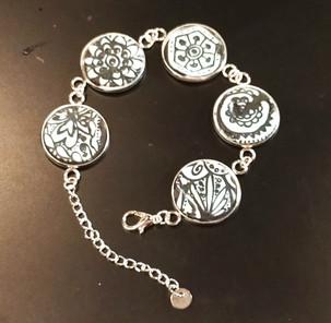 Bracelet en porcelaine froide