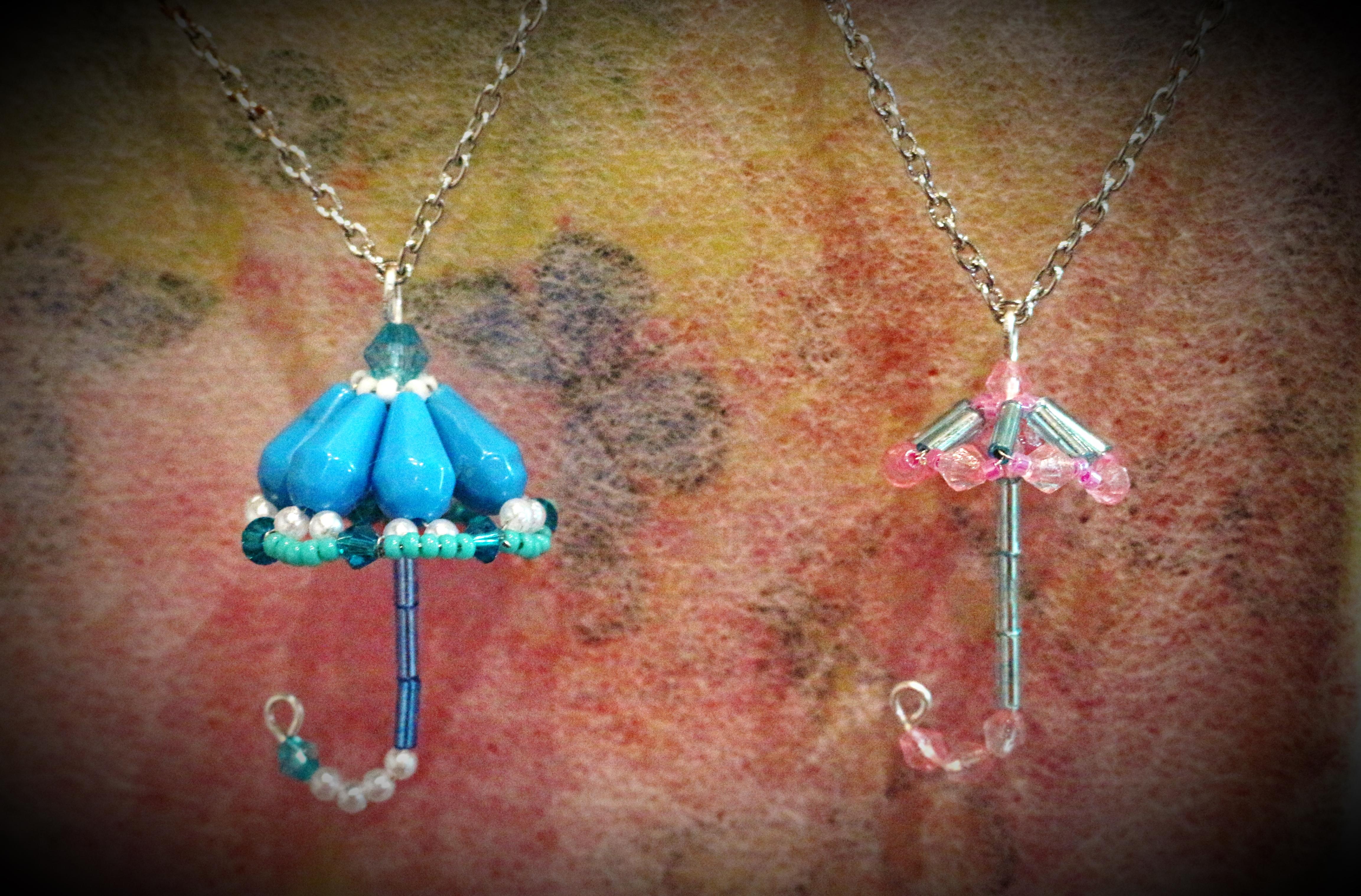 Parapluie en perles