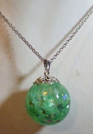 Sphère verte