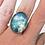 Thumbnail: Bague réglable bleu univers