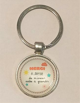Porte-clés Merci maitresse