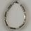 Thumbnail: Bracelet hématite, argenté, anthracite