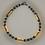 Thumbnail: Bracelet hématite, doré, argenté, anthracite