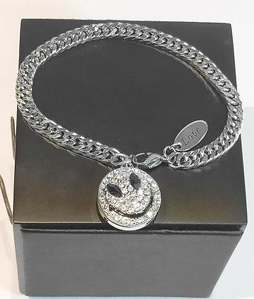 Bracelet en chaîne smile