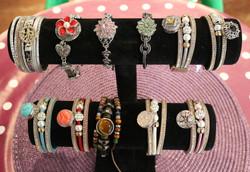 Bracelets boutons pression