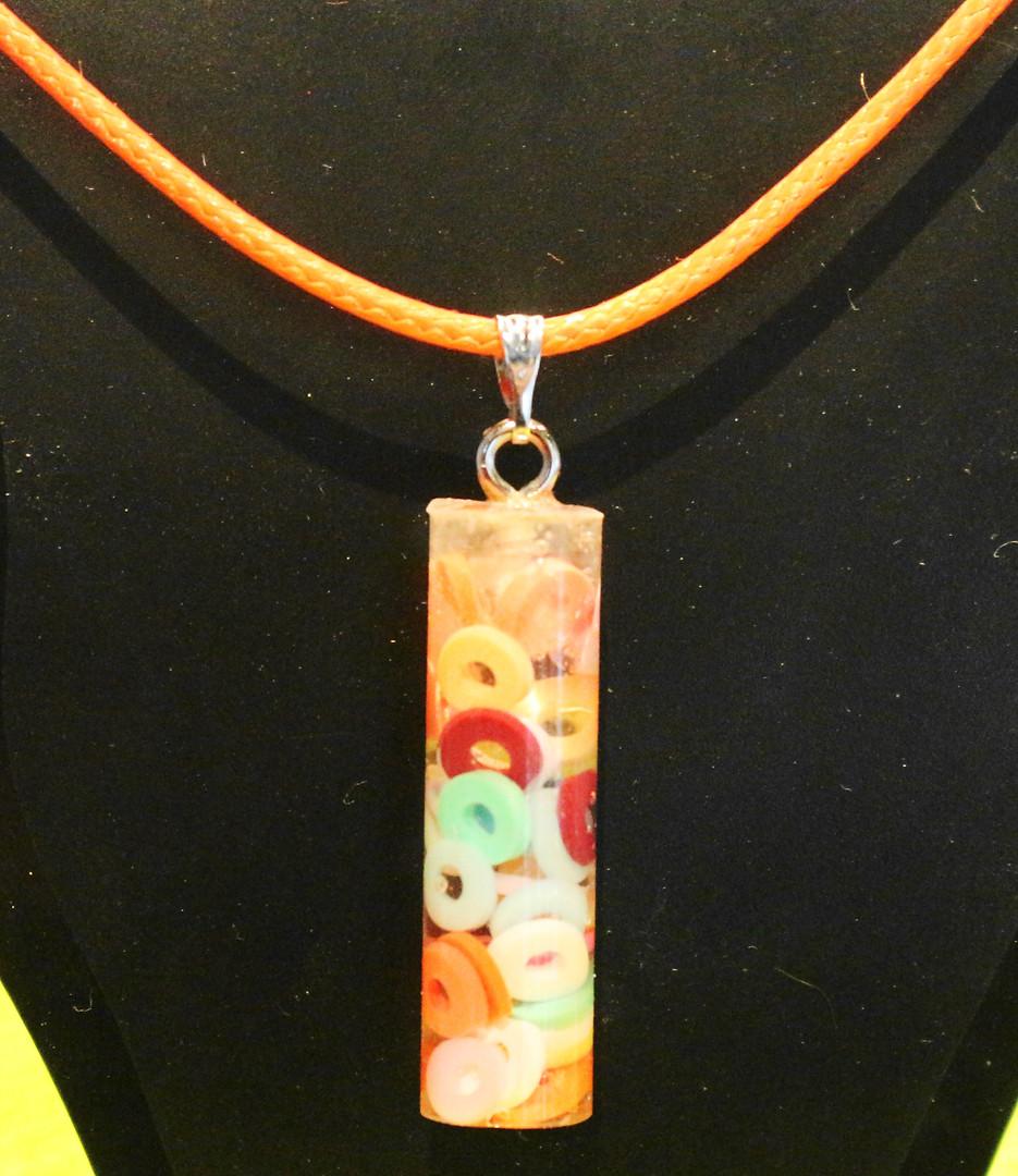 Colonne ronds multicolores