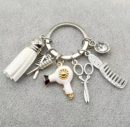 Porte-clés pour coiffeuses