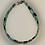 Thumbnail: Bracelet hématite anthracite, argent, turquoise