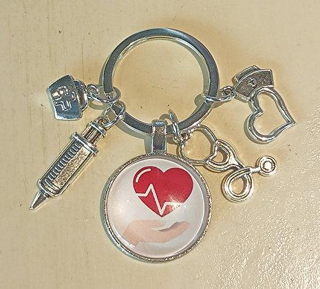 Porte-clés pour profession médicale 2