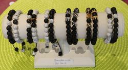 Bracelet perles couple