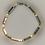 Thumbnail: Bracelet hématite argenté, doré