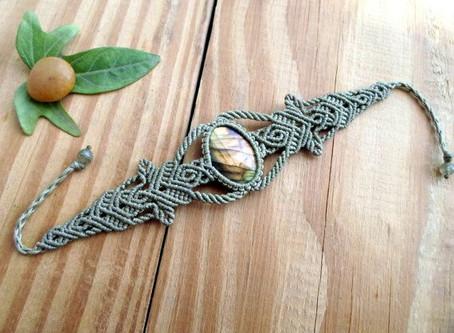 Fournitures pour créer des bijoux en macramé