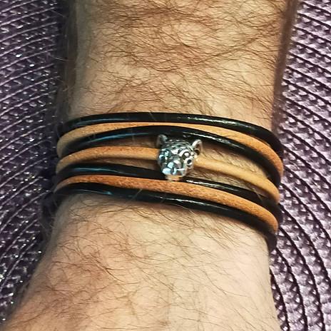 Bracelet léopard