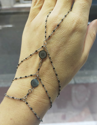 Bracelet-bague (3 couleurs possible)