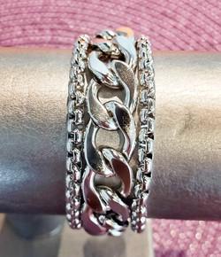 Bracelet 3 chaines