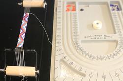 Bracelet au métier à tisser