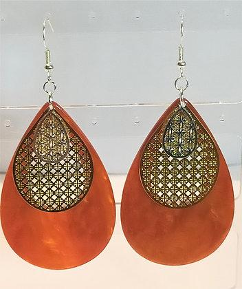 B.O. orange/doré/argenté