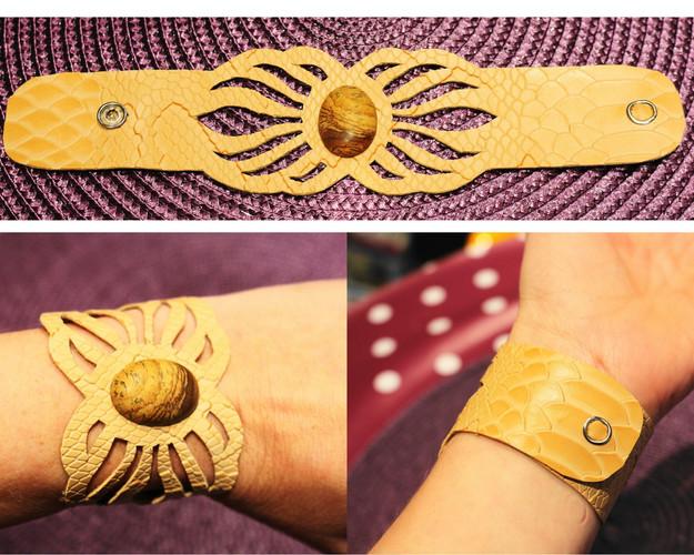 Bracelet serpent 4