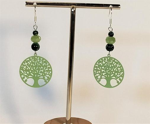 B.O. arbre de vie vertes