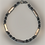 Thumbnail: Bracelet hématite argenté, anthracite