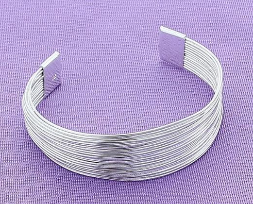 Bracelet multi-lignes en argent