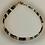 Thumbnail: Bracelet hématite marron, noir, vert, doré