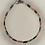 Thumbnail: Bracelet hématite doré rose, bleu, argent