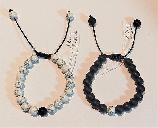 Bracelets couple 1