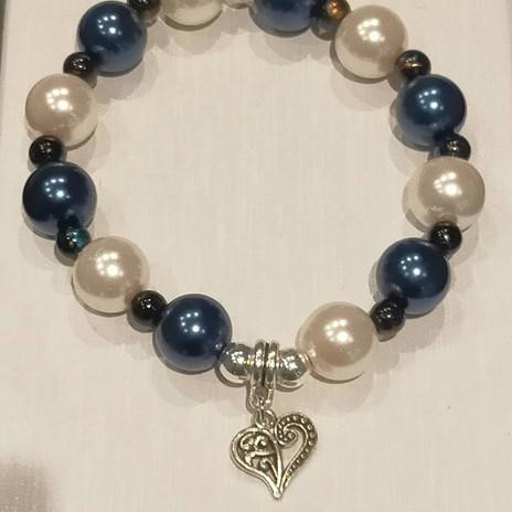 Bracelet grosses perles