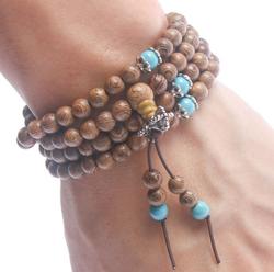Bracelet  bois de santal naturel