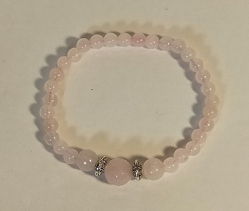 Bracelet enfant quartz rose