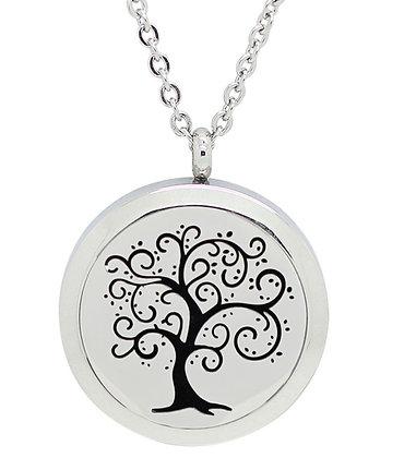 Collier aromatique arbre de vie