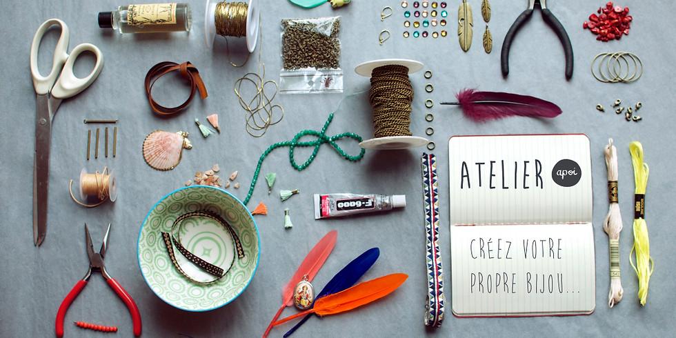 Adulte: créer votre bijoux personnalisé!