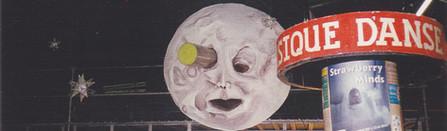 Lune, décors sculptural d'après Mélies