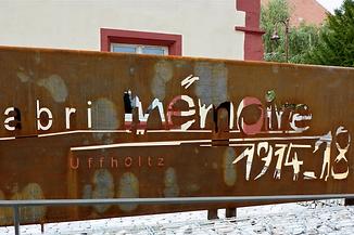 abri mémoire d'Uffholz, résidence d'artiste