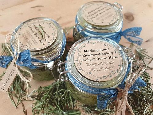 Mediterranes Kräuter Peeling liebkost Deine Haut