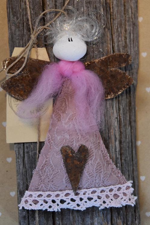 Engel auf Holz