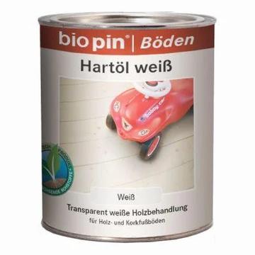 Bio Pin Hartolie Wit.