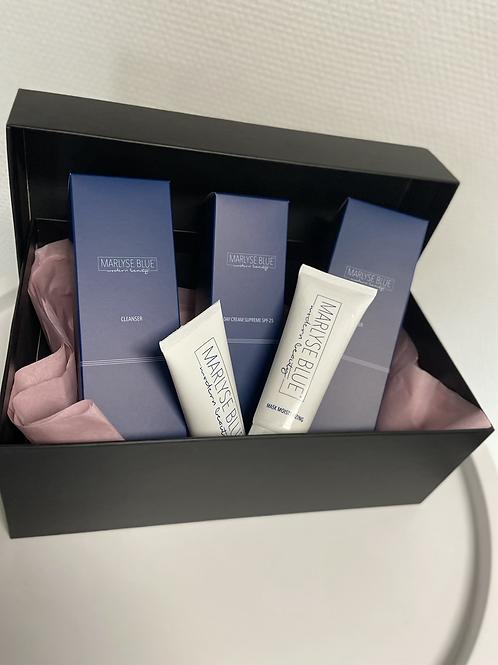 Marlyse Blue SKINCARE  BOX + gratis masker