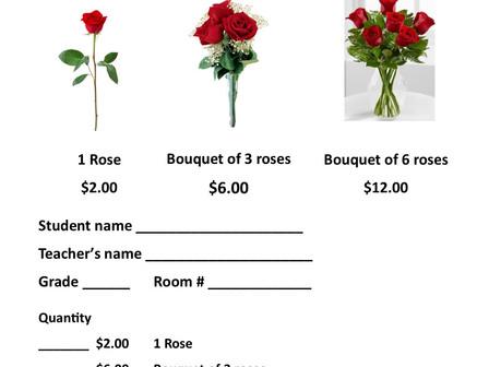 Valentine Roses Sale!