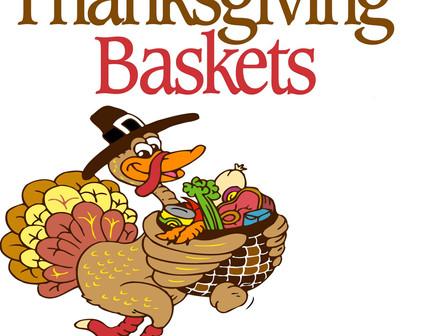 Thanksgiving Food Baskets    Canastas de comida de acción de gracias