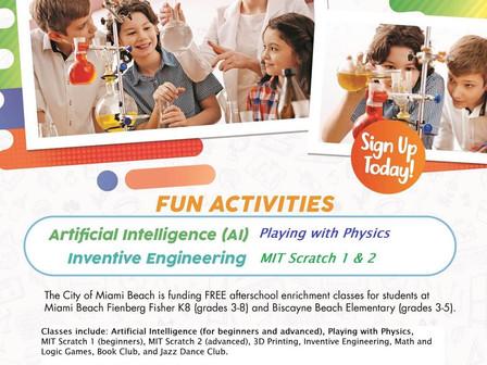 FREE After School Activities****Actividades extraescolares GRATIS