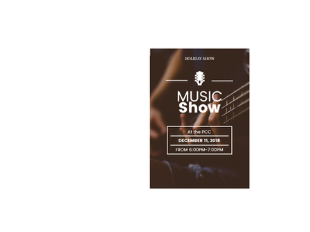 Music Show Wed 12 6:00 PM