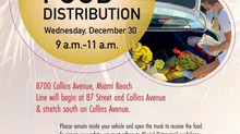 12/30/20 Food Distribution***Diciembre 30: Distribución de Comida