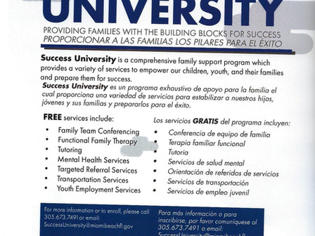 Success University                     Universidad del Éxito