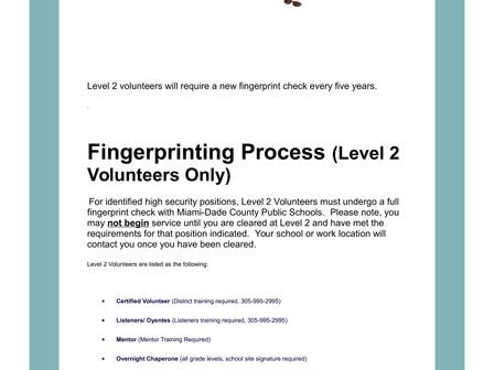 How to apply to be  a school volunteer Cómo postularse para ser voluntario en la escuela