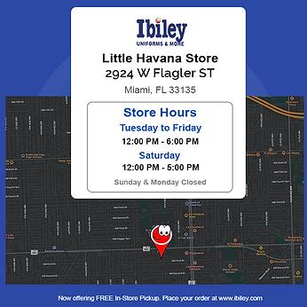 Ibiley Uniform Store Info - Little Havan