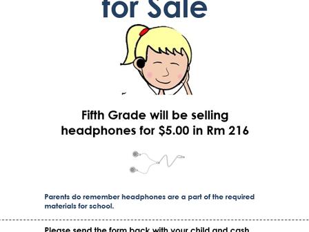 Headphones for Sale                            Venta de audífonos