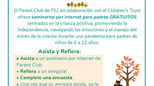 Parent Club @FIU *** Club de Padres @FIU